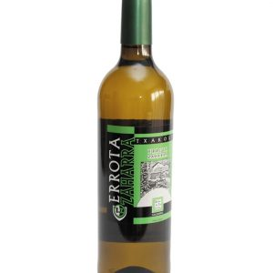 Botella de Txakoli Errota zaharra blanco